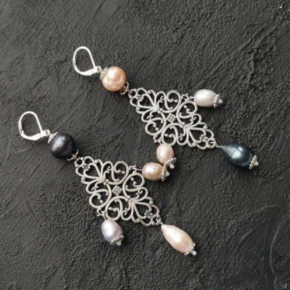 Купити сережки з перлами