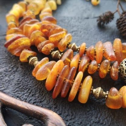 Намисто бурштинове Сонечко фото 3