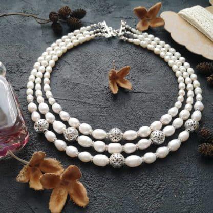 Намисто з перлів Ідилія фото 3