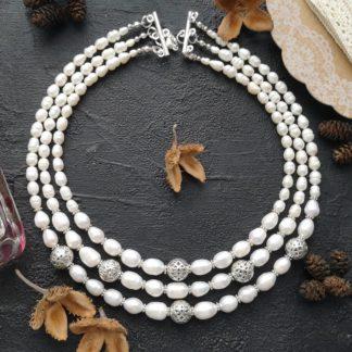 Намисто з перлів Ідилія фото 1