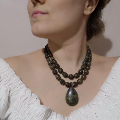 Яшмове намисто Валірія фото 4