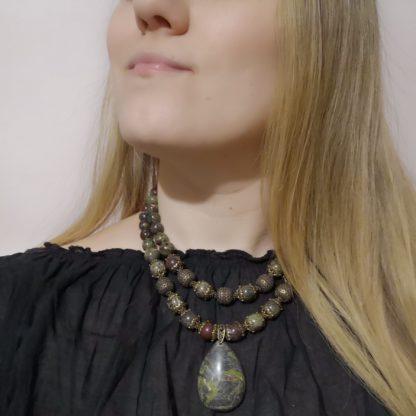 Яшмове намисто Валірія фото 5